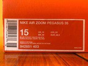 Zapatillas Nike Air Zoom Pegasus 35, Talla 15 Us