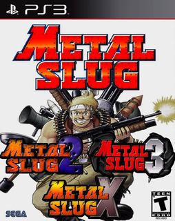 Metal Slug 1, 2, 3 + Metal Slug X Ps3 Digital Gcp