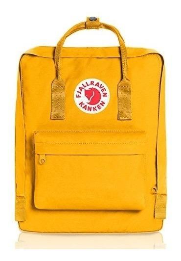 Kanken Classic Bordada Fjallraven Original - Warm Yellow