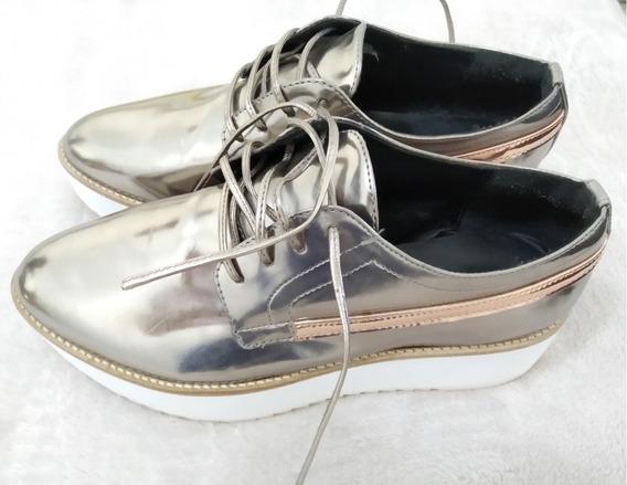 Sapato Oxford John John 34 Feminino