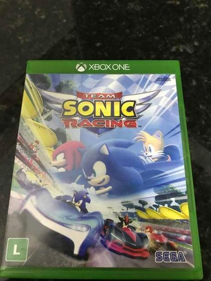 Jogo Xbox One Team Sonic Racing Original Mídia Física