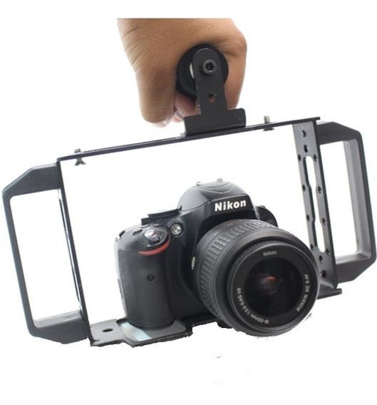 Estabilizador Cage Para Fazer Video Com Celular Camera Dslr