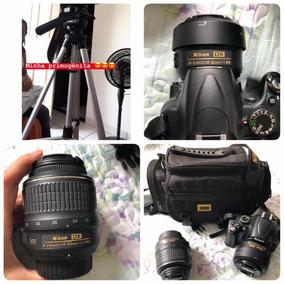 Nikon 5000. Acompanha Lente 55mm E 35 Mm, E Capa.