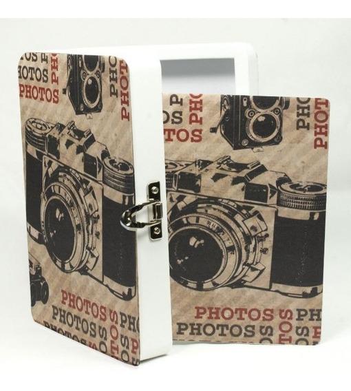 Álbum Fotográfico Estojo Camera Retro P/100f 10x15
