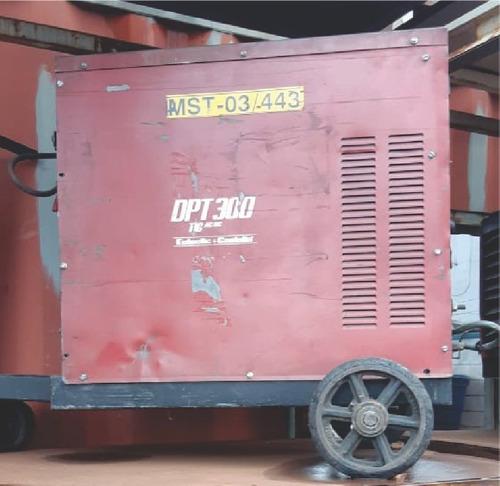 Maquina De Solda Tig Lincoln Electric-eutectic Dpt300 - 2711
