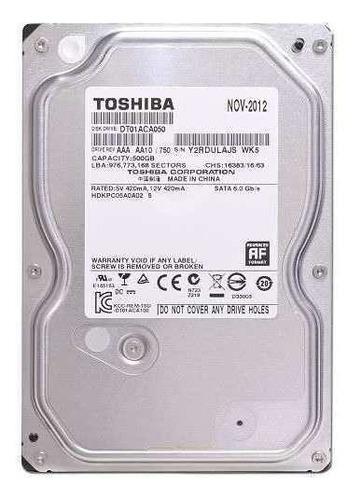 Discos Duros Toshiba Pc 3.5 Nuevos 500gb Envios Todo El Pais