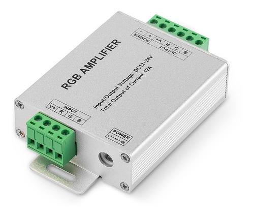 Imagen 1 de 1 de Amplificador Rgb 12a (10 Metros) - Amp-rgb-12a