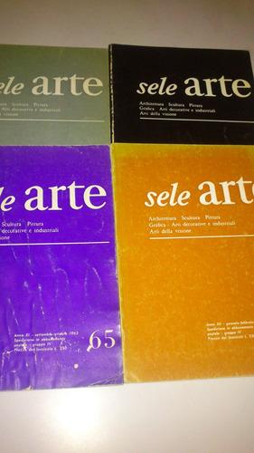 Sele Arte N 63, 65, 66 Y 67 Escultura Pintura Grafica Y Más