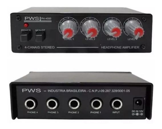 Power Play Retorno De Ouvido Pws Ph4000 Promoção I9som