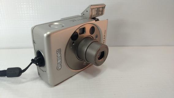 Câmera Canon Elph Tl 260 Antiga Filme Aps Retro Rara