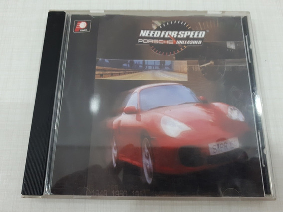 Need For Speed Porsche Unleashed Patch Prateado Playstation