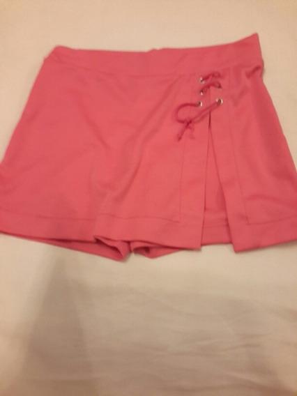 Pollera Pantalón Rosa Para Nena