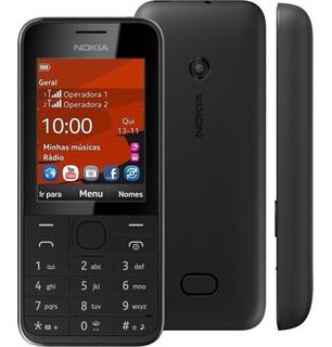 Celular Nokia 208,2chip,3.5g,novo Na Caixa Anatel Rádio 3g