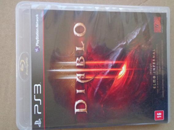 Diablo 3 Ps3 Mídia Física $42