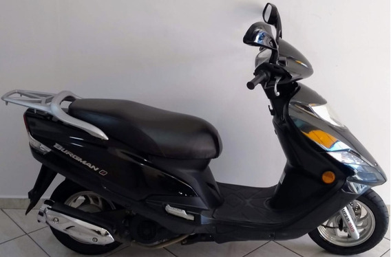Suzuki An Burgman 125i 2015 Preta