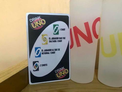 Uno Shot Con Juego De Cartas Y Reglas Mercado Libre
