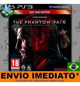 Jogo Ps3 Metal Gear Solid V The Phantom Pain - Leg Português