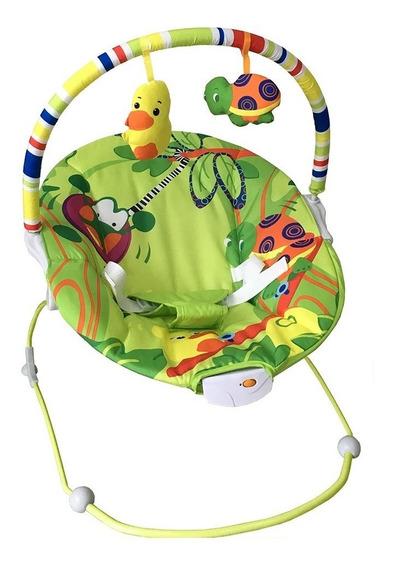 Cadeira De Descanso Bebê Vibratória Musical Baby Style Poly
