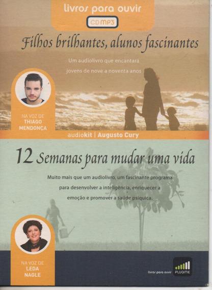 Audio Livro Filhos Brilhantes + 12 Semana Para Mudar Uma Vid