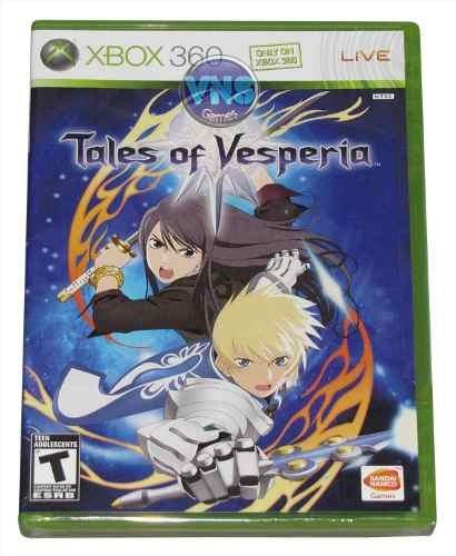 Tales Of Vesperia - Xbox360 - Americano - Ntsc - Lacrado