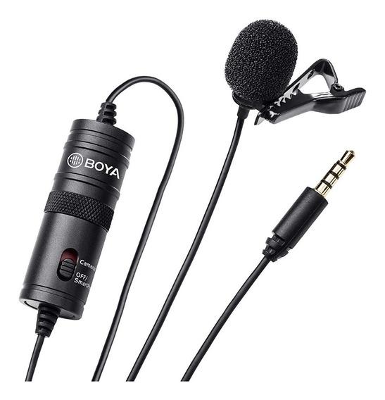 Microfone Lapela Boya By-m1