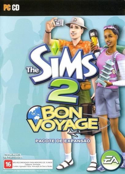 Game Pc Lacrado The Sims 2 Bon Voyage Cd-rom