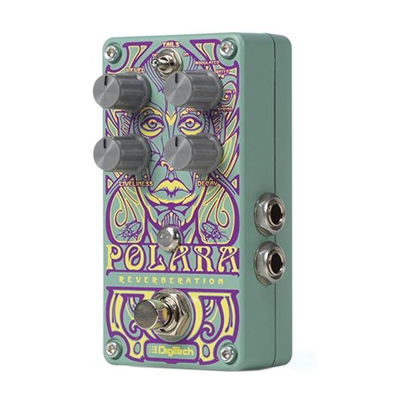 Pedal De Efeito Guitarra Digitech Polara Com 7 Reverb Stéreo