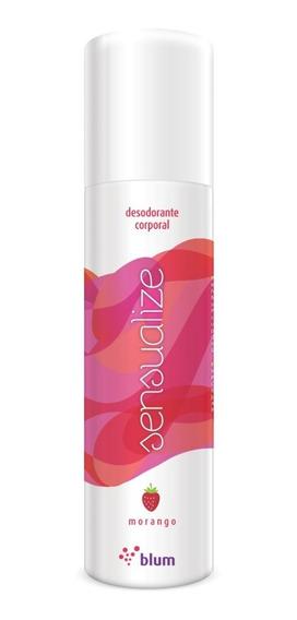 Desodorante Íntimo De Morango Jato Seco Sensualize Blum166ml