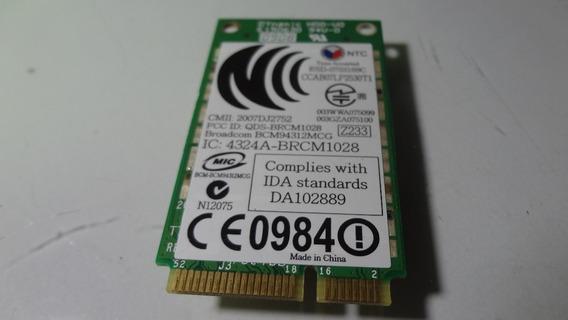 Placa Wireless Do Notebook Dell Inspiron 1525 Modelo Pp29l