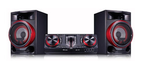 Mini System Lg Bluetooth Usb Mp3 Cd Player 1800w