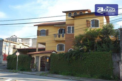 Sobrado Gigante! 363 M² Construídos Com 5 Dormitórios No Jardim Paraventi - Guarulhos - So1660
