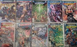 Dc - Justice League Rebirth (1 Al 20) Completo Televisa