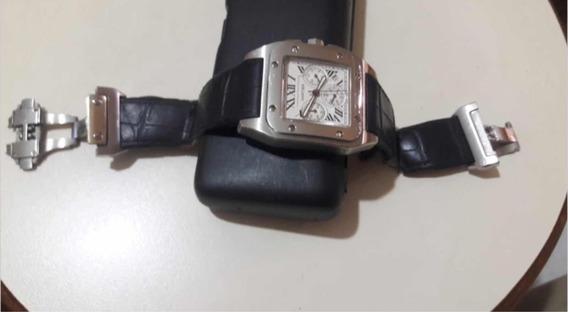Relógio Cartier Santos 100