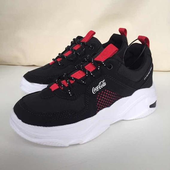 Tênis Coca Cola Shoes Feminino Frame Cc 1765