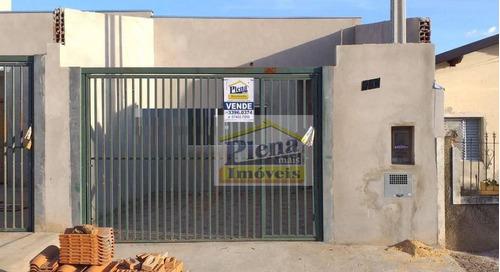 Casa Com 2 Dormitórios À Venda, 70 M² Por R$ 240.000 - Vila Carlota - Sumaré/sp - Ca3963