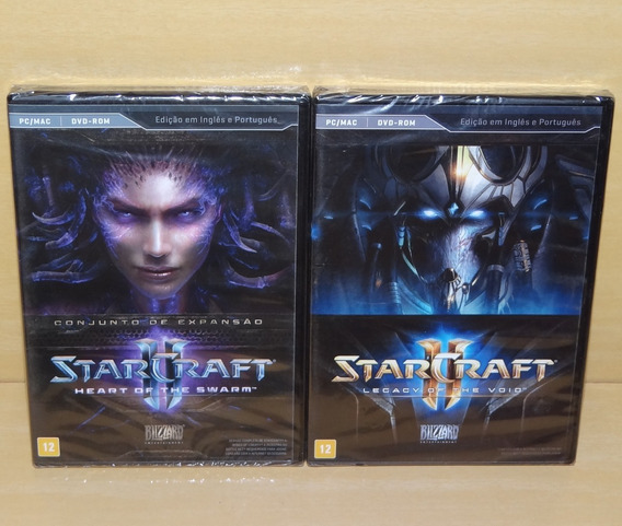 Starcraft Ii 2 Heart Of The Swarm + Legacy Of The Void - Pc