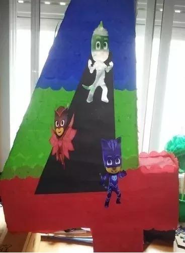 Piñata Numero - Personajes!!