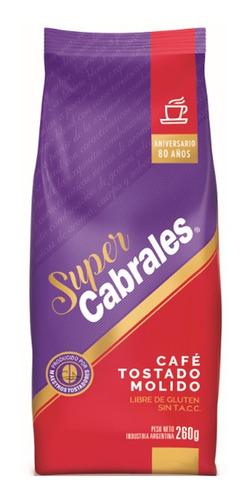 Imagen 1 de 1 de Café Molido Tostado Super Cabrales Libre Gluten Sin Tacc