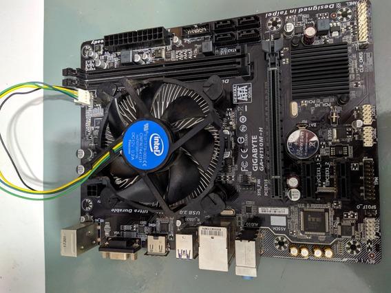 I5 7400 + H110m Gigabyte