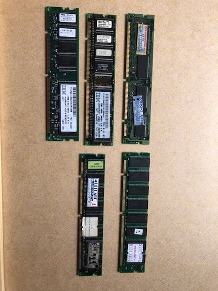 Memoria Sdram Dimm Pc 66 100 133 Mhz 168 Pinos Valor Unit 02