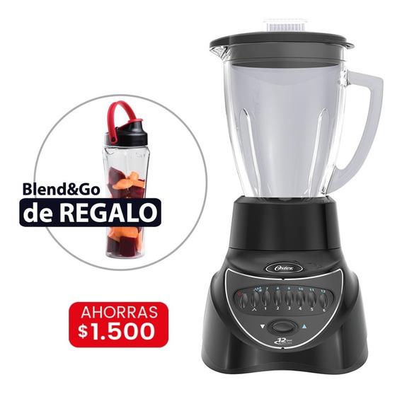 Licuadora Oster 7806 (negra) + Vaso Blend & Go De Regalo