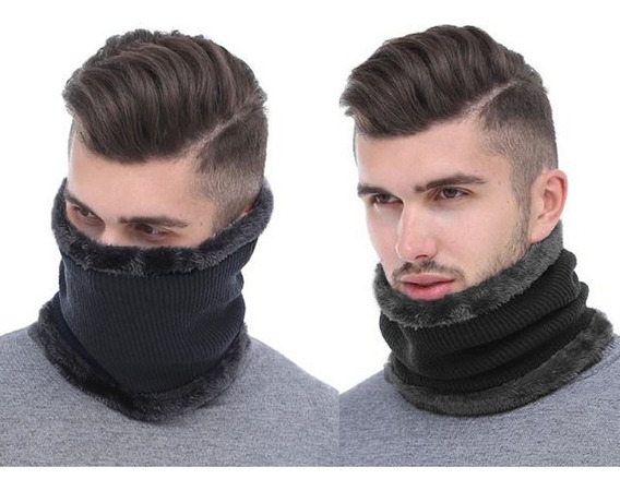 Bandana Cuello Bufanda Doble Capa Ropa Termica Ropa Invierno