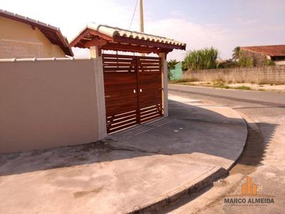 Casa Com 2 Dormitórios À Venda Por R$ - Balneário Jardim De Itanhaém (f/grandesp) - Itanhaém/sp - Ca0204