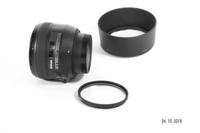 Equipamento Fotográfico Nikon - Lente 50mm - Abertura 1.4