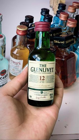 Mini Botellas Coleccionables De Alcohol