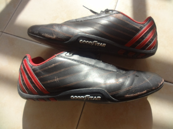 Fraternidad Escultor cuero  Zapatillas De Cuero Negras Adidas Goodyear - Zapatillas en Mercado Libre  Argentina