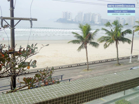 Guarujá, Pitangueiras - Lindo Apto, 4 Suites, Frente Para O Mar - Ap0173