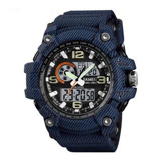 Reloj Skmei 1283 Deportivo Hombre Camuflado Digital Sumergib