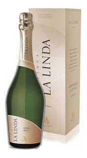 Estuche Champagne Finca La Linda Extra Brut X750cc