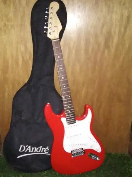 Guitarra Y Amplificador D,andre + Pedalera Boss.